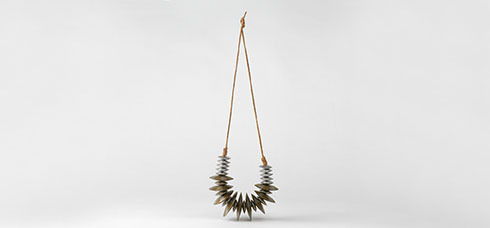 Necklace, Reema Pachachi, 1980, Crafts Council Collection: J128. Photo: Todd-White Art Photography.