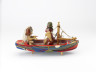 'Couple Boat' or 'A Dream Lasts Longer', Sam Smith, 1972 - 1973, Crafts Council Collection: W1a. Photo: Relic Imaging Ltd.