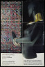 Poster, Michael Brennand-Wood: Thread Collages and Caroline Broadhead: Jewellery, Crafts Advisory Committee, 1979, Crafts Council Collection: AM229. © Crafts Council