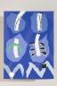 Shields On Blue Ground, Marta Rogoyska, 1987, Crafts Council Collection: T106. Photo: Heini Schneebeli.