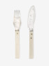 Fish Fork and Fish Knife, Gunilla Treen, 1974, Crafts Council Collection: M7a and M7b. Photo: Stokes Photo Ltd.