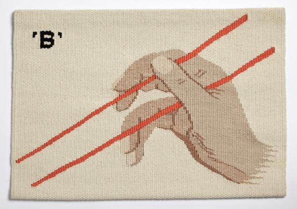 How To Use Chopsticks B, Joanna Buxton, 1978, Crafts Council Collection: T41b. Photo: John Hammond