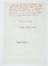 Letter from Peter Collingwood to Miranda Neave, c.1980, Crafts Council Collection: AM27. © Estate of Peter Collingwood