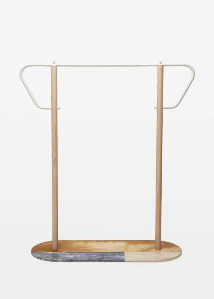 Coat Rack, Max Frommeld, 2017. Crafts Council Collection: 2019.17. Photo: Stokes Photo Ltd.