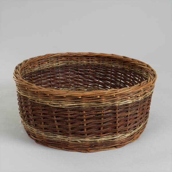 Demi Bushel Basket, Mary Bunce, 1980, Crafts Council Collection: W31. Photo: Todd-White Art Photography.