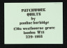 Label for 'Patchwork Quilts by Pauline Burbidge', c.1980, Crafts Council Collection: AM134. © Pauline Burbidge