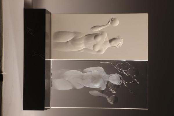 White Lies, Alison Kinnaird, 2001, Crafts Council Collection: G93. Photo: Heini Schneebeli.