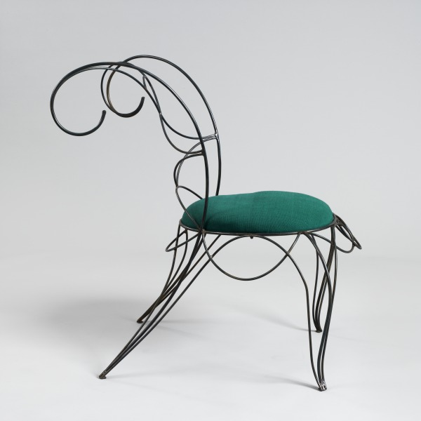Ram Chair, Andre Dubreuil, 1990, Crafts Council Collection: W87. Photo: Todd-White Art Photography.