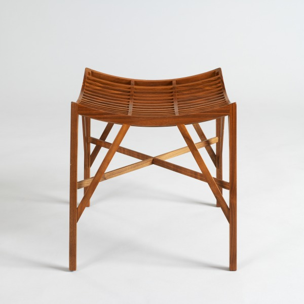 S7 Production Stool, David Wolton, 1996 Crafts Council Collection: W111. Photo: Todd-White Art Photography.
