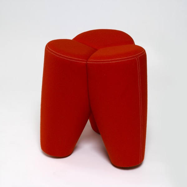 Johanna I (Red), Ineke Hans, 1996, Crafts Council Collection: W119. Photo: Todd-White Art Photography.