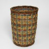 Floor standing waste basket, Lois Walpole, 1992-93, Crafts Council Collection: W132. Photo: Todd-White Art Photography.